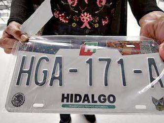 Tenencias y adeudo vehicular en Hidalgo