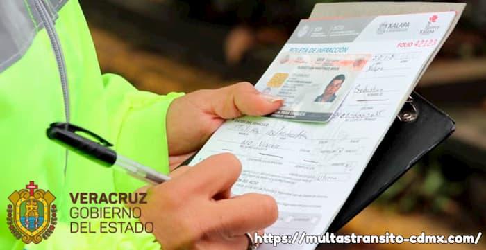 Pago multas en Veracruz