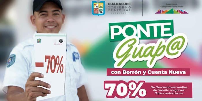 Descuentas de Multas de tránsito en Guadalupe