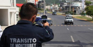 Multas en Monterrey