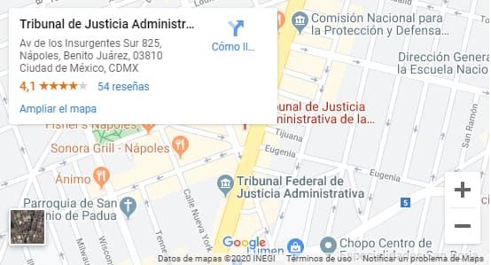 Tribunal de lo contencioso administrativo CDMX