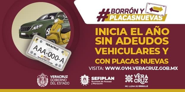 Adeudos vehiculares en Veracruz