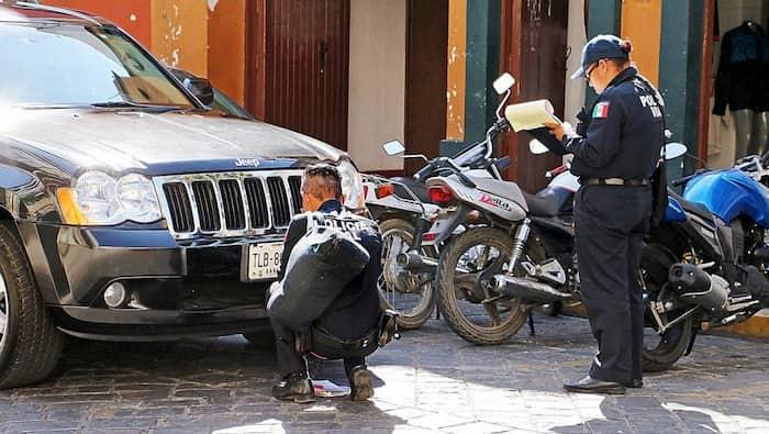 Multas de transito en Oaxaca Juarez