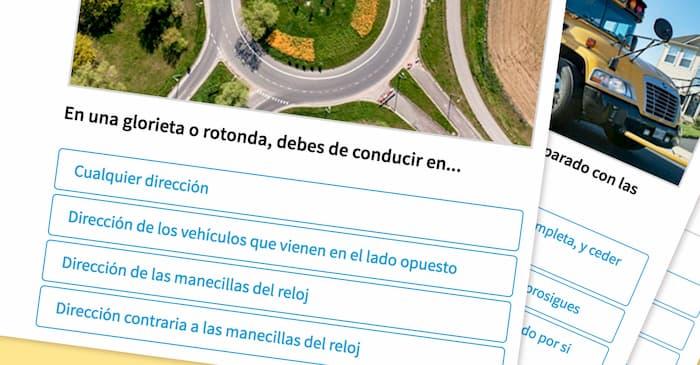 Preguntas Y Respuestas Examen Para Licencias De Conducir 2021